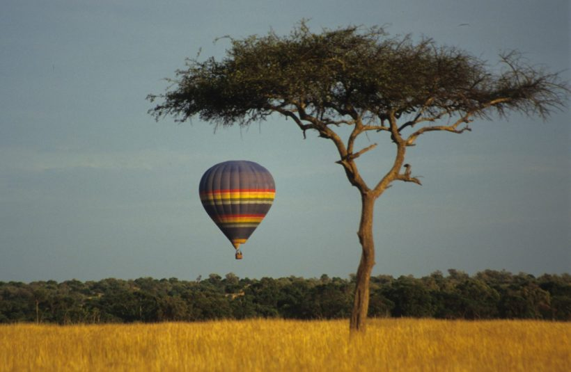 A-hot-air-balloon-Serengeti-Wito-Africa-Safaris