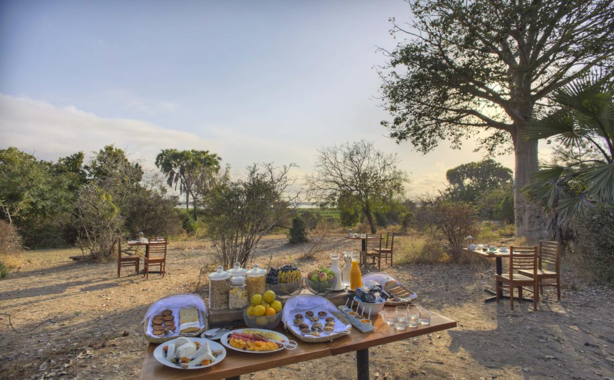 Breakfast-in-camp-Roho-Selous-Game-Viewing-Wito-Africa-Safaris